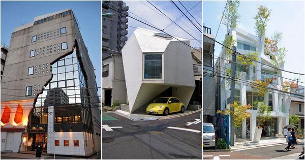 những thiết kế kiến trúc đẹp mắt ở nhật bản