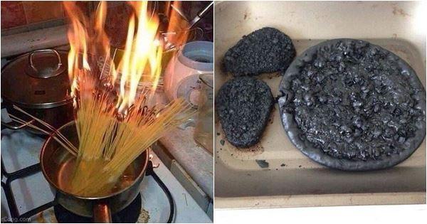 khi những người say xỉn nấu ăn